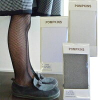 POMPKINS(ポプキンズ)フォーマル網タイツ[黒・オフホワイト](90〜160cm)【楽ギフ_包装】