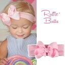 Ruffle Butts(ラッフルバッツ)リボンヘッドバンド [ピンク]サイズ:ベビー〜2歳ぐらいまで ベビー 出産祝い ギフト フォーマル…