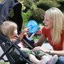 DiONO(ディオノ)おでかけ扇風機ストローラーファン(カラー:ブルー)ベビーカーチャイルドシート扇風機お出かけ用赤ちゃん用クリップ付携帯夏ポータブルプレゼントギフト