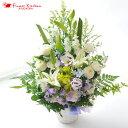 【あす楽15時まで】お供え花 洋花を使った旬のおまかせ供花【...