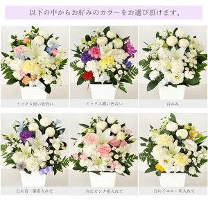 ユリ供花選べるカラー