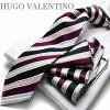 ポケットチーフ付きネクタイ