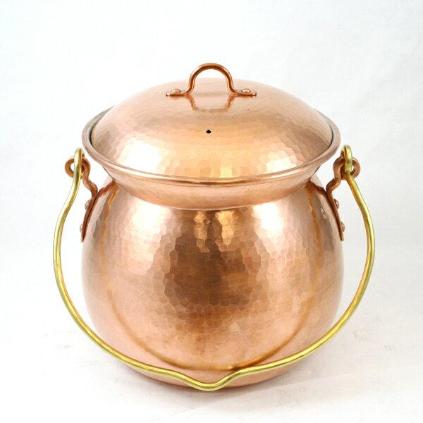 【一点物】銅 スープ鍋手付 20cm 京都の名工 寺地茂 作【RCP】:Flying Saucer