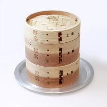 照宝上製中華せいろ杉製蒸し板セットφ15cm【RCP】