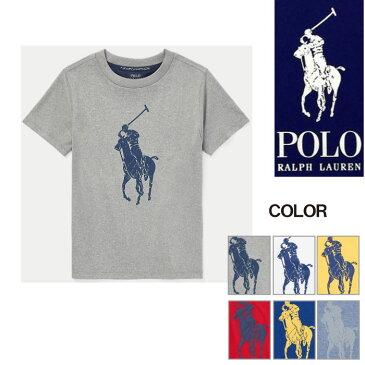 【エントリーでポイント5倍】ラルフローレン キッズ Tシャツ 半袖 ポリエステル ビッグポニー