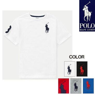 【エントリーでポイント5倍】ラルフローレン キッズ Tシャツ 半袖 ビッグポニー