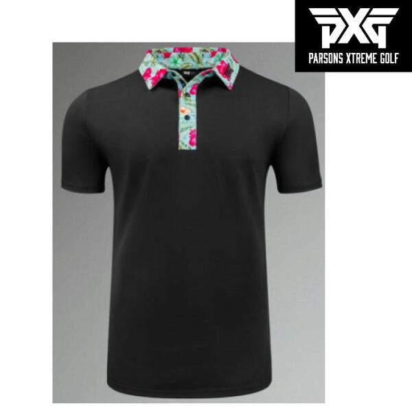 PXG(パーソンズ・エクストリーム・ゴルフ)ウェアアロハポロシャツ