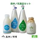 <森林ノ牧場おすすめ乳製品セット>那須高原 森林ノ牧場 人気