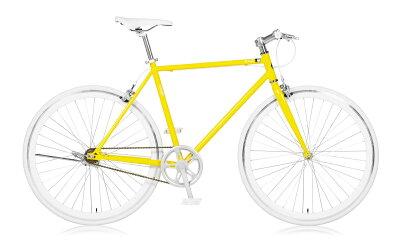 【送料無料】自転車クロスバイク700c通勤通学シングルサイクリング530mmホリゾンタルスポーツバイクa.n.designworksLaugh530ラフ【カンタン組立】【a.n.dロック・バルブアダプタプレゼント】