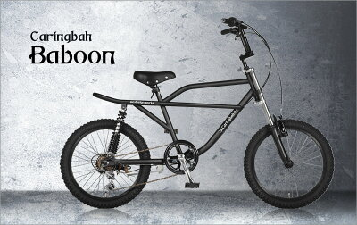 自転車BMX20インチサスペンションレトロスタイルおすすめ6段変速スポーツバイクCaringbahカリンバ【カンタン組立】アウトレットBaboona.n.designworks