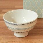 波佐見焼ニットラインMASU入り碗(青)食器茶碗磁器枡キッチン日本製北欧デザインかわいいおしゃれギフトプレゼント