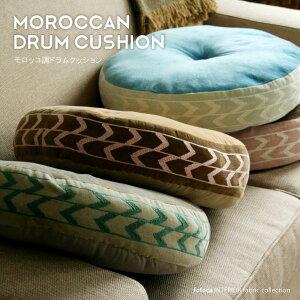 モロッコ クッション オリエンタル 刺しゅう デザイン