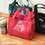 【BROOKLYNTRAP】ランチトートヨコ保冷バッグ弁当袋ランチトートメンズライクシンプルおしゃれデザイン新生活ピクニックアウトドア