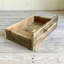 リサイクルウッド 幅120cmローボード用ウッドボックス 木製箱 木製ボックス 木製BOX 収納箱 収納ボックス 収納BOX