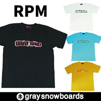 graysnowboardsグレイスノーボードGENIUSTシャツ半袖メンズレディース