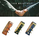 【Alive Athletics】ALIVE アライブ Leather Wrist Belt(レザーリストベルト)革ブレスレット湯川正人 レディースメンズ