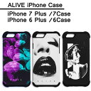 Alive Athletics iPhoneケース ALIVE (アライブ) iPhone6/6s Case アイフォン6 6Plus 7 7Plusケース)湯川正人Medusa Narcist Tempt メール便対応可