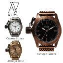 Alive Athletics ALIVE 時計 レディース ウォッチ THE LEGON ザ レギオン アンティーク メンズ レディース 湯川正人 プロデュース