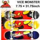 TOY MACHINE トイマシーン スケートボード コンプリート VICE MONSTER (7.75 × 31.75) [TM-104A] [TM-10...