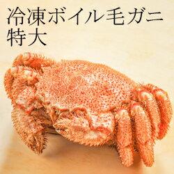 【年末限定】冷凍ボイル毛ガニ特大