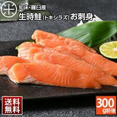 北海道羅臼産生時鮭(トキシラズ)刺身300g前後