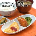 【軽食】ライトミール 自由に選べる10食セット 冷凍弁当 冷凍食品 朝食 昼食 夕食 ラ