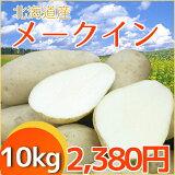 北海道産じゃがいもメ−クイン(10kg)