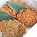 【10尾以上で送料無料!】オホーツク産浜茹で毛ガニ(約380〜400gサイズ)