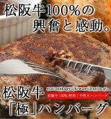 【数量限定】おためしワンコイン!1個130g!ご飯のお供第3弾!松阪牛100%生ハンバーグ!