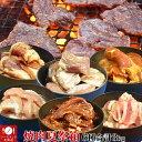 焼肉セット BBQバーベキュー6品3kg詰め焼肉祭り詰め合わせ[牛カルビ、牛ハラミ、ジンギスカン、と...