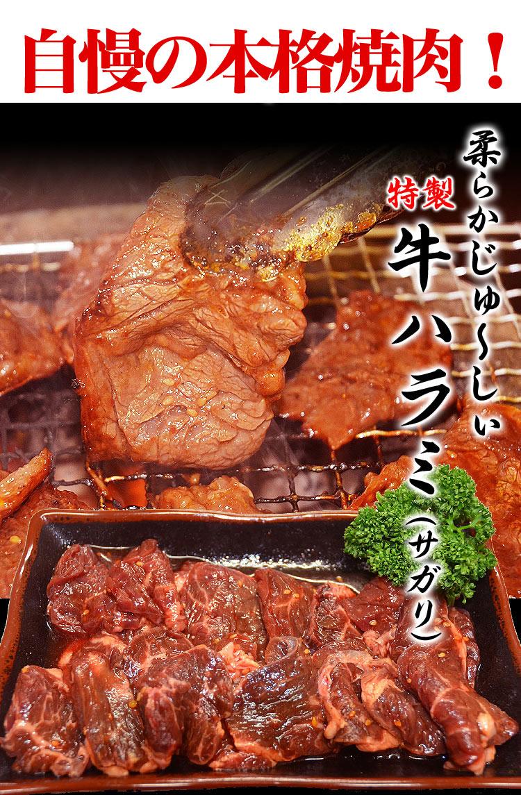 焼肉セット3kg分6品入り食べるぞ焼肉祭り[詰め合わせ/BBQ/バーベキュー/牛カルビや牛ハラミ等てんこ盛り](冷凍)