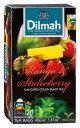 紅茶 ティーバック 茶葉 ディルマ Dilmah マンゴー & ストロベリー フレーバーティー 2g