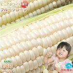 とうもろこしピュアホワイト送料無料約4kg10〜13本入り熊本県産白いとうもろこし極甘フルーツコーンスイートコーン雪の妖精