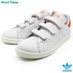 adidas Originals STAN SMITH CF W アディダス オリジナルス スタンスミス コンフォート W CRYWHT/CRYWHT/TRAORA ホワイト/ホワイト/オレンジ CQ2788 靴レディース靴 メンズ靴 スニーカー ベルクロ