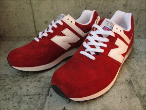 MADE IN UK!【15%OFF!】 NEWBALANCE M576 RGS【ニューバランス M576 RGS】RED SUEDE【あす楽...