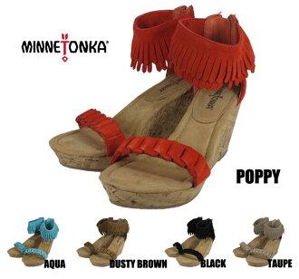 Minnetonka Nikki MINNETONKA NICKI 71305 POPPY/AQUA/DUSTY BROWN/BLACK/TAUPE