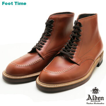 オールデン インディ ブーツ ALDEN INDY BOOTS 405 カーフ ブラウンCALF BROWN Dワイズ MADE IN USA メンズ ワークブーツ