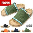 【在庫限り】エドウィン メンズ フットベット サンダル EW9100 ...
