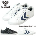 【20%OFF】ヒュンメル hummel DEUCE COURT SPORT LOW 63-657 ...