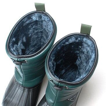 【48%OFF】かるぬく メンズ 超軽量 防寒 ブーツ N2513 紳士超軽量ショート 防水 ボア 軽い 温かい レインブーツ つま先ガード入り(1711)