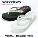 レディースサンダル スケッチャーズ 【SKECHERS】VINYASA TREASURE TROVE サンダル 38498