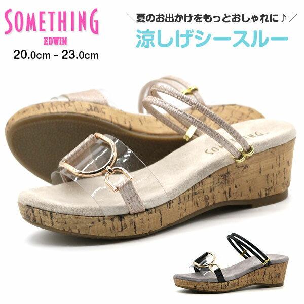 靴, サンダル  SOMETHING som-3089
