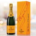 電報 結婚式 誕生日 お祝い電報 祝電 送料無料 シャンパン 【ヴーヴ・クリコ イエローラベル】
