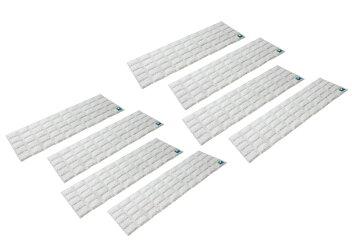 日本製強力消臭除湿シート下駄箱用8枚セット繰り返し使える(お知らせセンサー付)足の臭い湿気フォーラル送料無料ポイント10倍