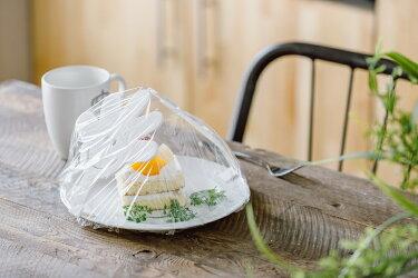 ママの手ラップ料理食品ケーキ型崩れ防止保存ラップ用アームホワイト3枚入り【5235】ネコポス送料無料食べ物がラップにつかないキッチン食卓カバー電子レンジ対応フォーラル