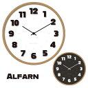 時計 バウハウス フォントウォールクロック Alfarnc WCL-008 WCL-009 BAUHAUS Fonts Wall Clock Alfarn