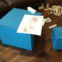 リキキッズセット riki kid's set 子供用机 子供用いす 段ボール スツール 子供用家具 毎日デザイン賞受賞
