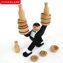【ポイント10倍】木製 おもちゃ Don't Tip The Waiter Stacking Game ドント ティップ ザ ウェイター スタッキング ゲーム KIKKERLAND キッカーランド
