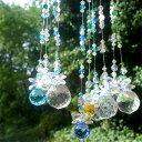 虹のシャワー☆幸せを呼ぶ四つ葉 天然石サンキャッチャー30選♪ 〔 天然石 パワーストーン アクセサリー 〕