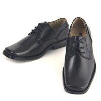 男の子フォーマル靴キッズジュニア子供男子供用卒業式入学式卒園式発表会結婚式七五三スクエアトゥの子供フォーマルシューズ「ブラック」